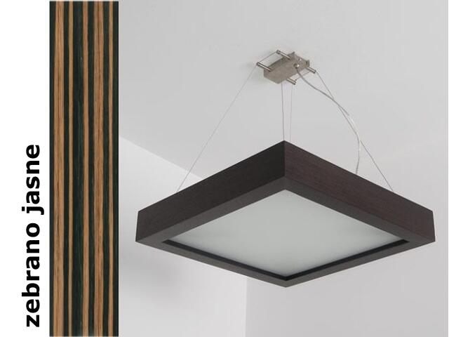 Lampa sufitowa MOA 40 zebrano jasne 8649K207 Cleoni