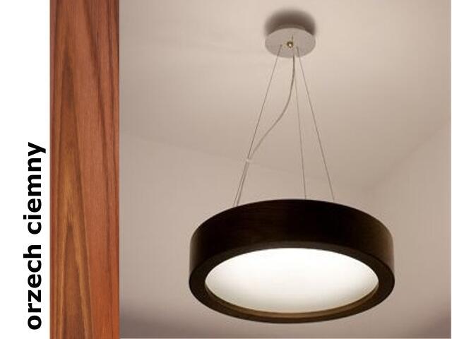 Lampa sufitowa LUKOMO 43 mała orzech ciemny 8653A3209 Cleoni