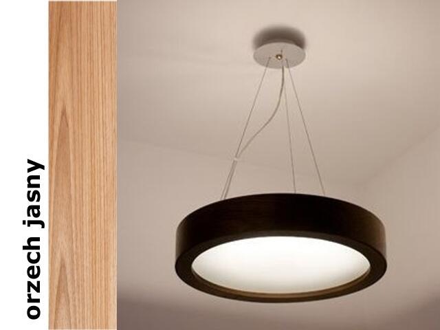Lampa sufitowa LUKOMO 43 mała orzech jasny 8653A3210 Cleoni