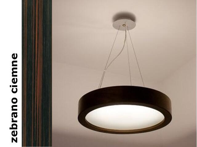 Lampa sufitowa LUKOMO 43 mała zebrano ciemne 8653A3206 Cleoni