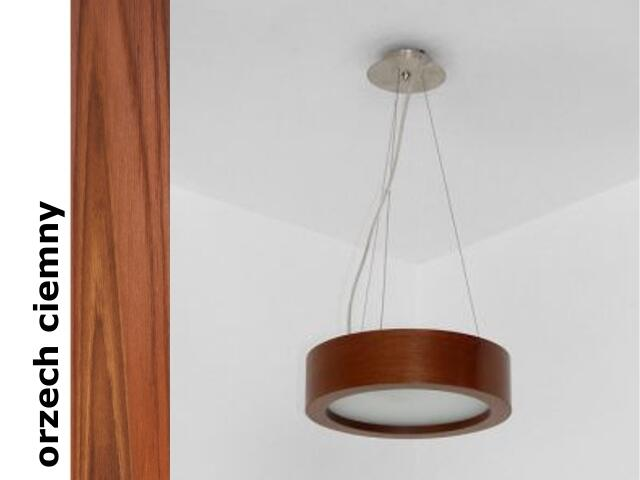 Lampa sufitowa LUKOMO 43 średnia orzech ciemny 8655A3209 Cleoni