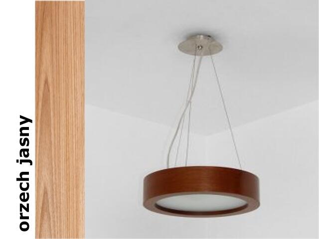 Lampa sufitowa LUKOMO 43 średnia orzech jasny 8655H4210 Cleoni