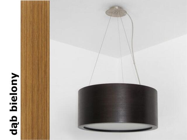 Lampa sufitowa LUKOMO 43 duża dąb bielony 8657A3208 Cleoni