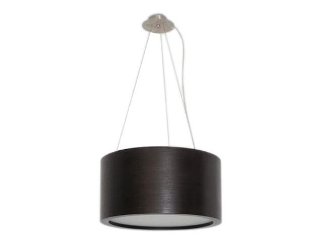 Lampa sufitowa LUKOMO 43 duża zebrano ciemne 8657H4206 Cleoni
