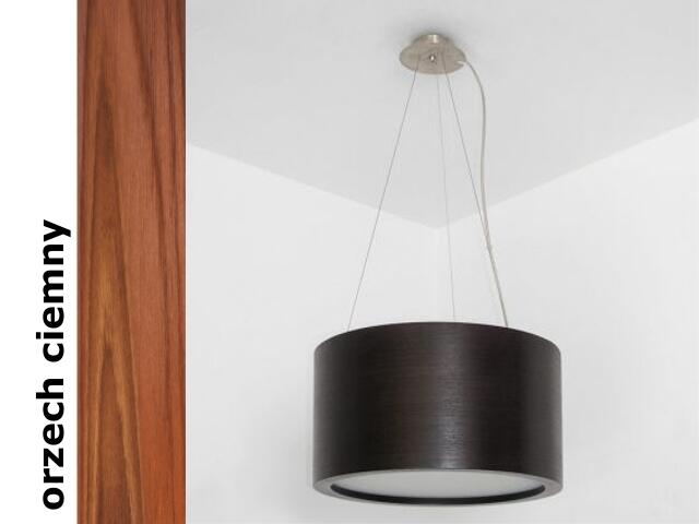 Lampa sufitowa LUKOMO 35 duża orzech ciemny 8663A2209 Cleoni