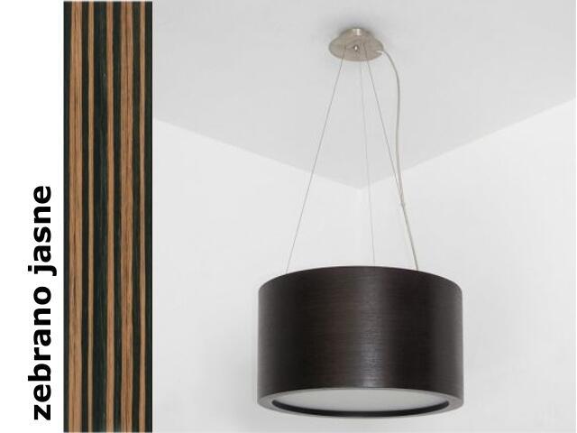 Lampa sufitowa LUKOMO 35 duża zebrano jasne 8663A2207 Cleoni
