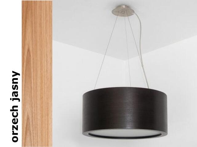 Lampa sufitowa LUKOMO 35 duża orzech jasny 8663H210 Cleoni