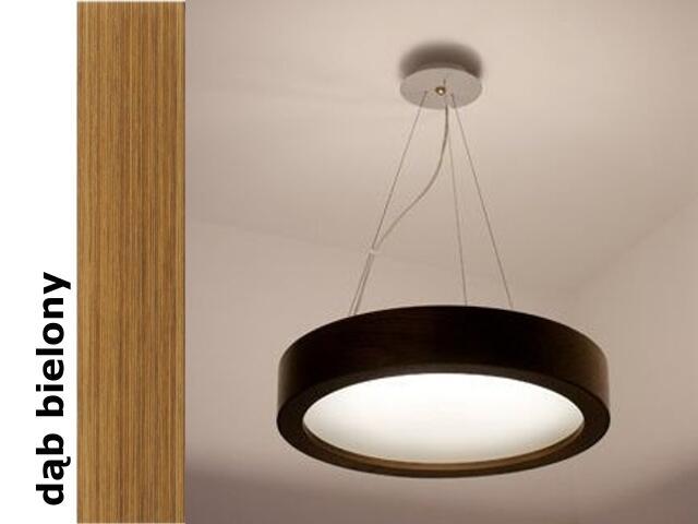 Lampa sufitowa LUKOMO 30 niska dąb bielony 8665A1208 Cleoni