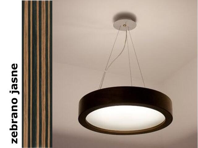 Lampa sufitowa LUKOMO 30 niska zebrano jasne 8665A1207 Cleoni