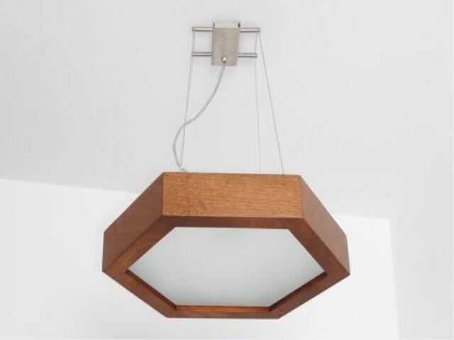 Lampa sufitowa PINO 38 orzech ciemny 8703A3209 Cleoni