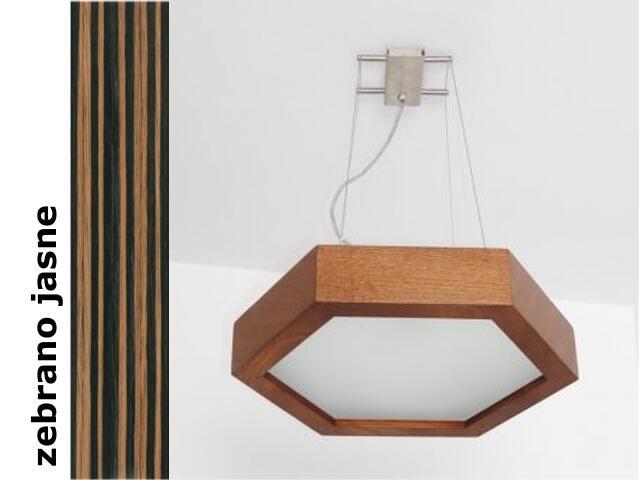 Lampa sufitowa PINO 38 zebrano jasne 8703A3207 Cleoni