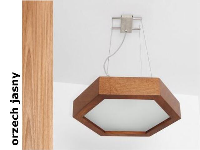 Lampa sufitowa PINO 38 orzech jasny 8703H210 Cleoni