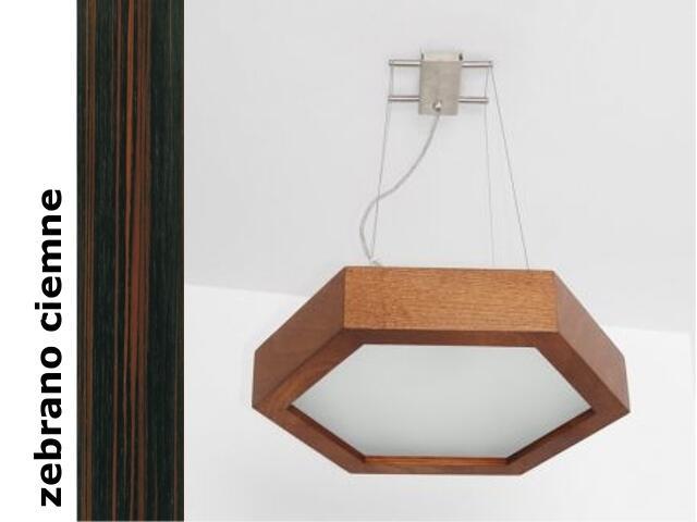 Lampa sufitowa PINO 38 zebrano ciemne 8703H206 Cleoni