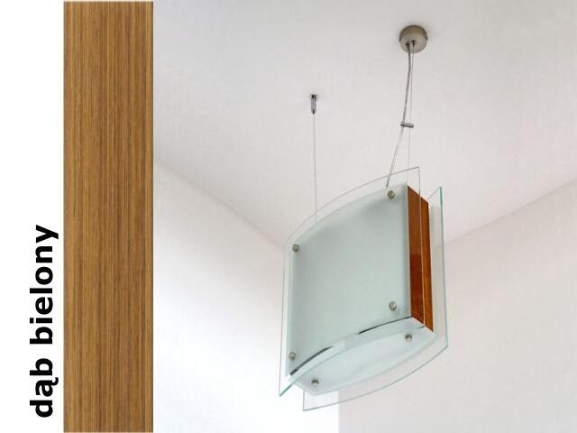 Lampa sufitowa CORDA II dąb bielony 9590DB Cleoni