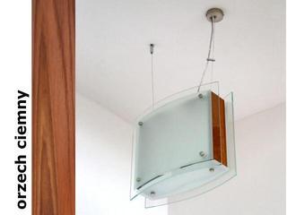 Lampa sufitowa CORDA II orzech ciemny 9590OC Cleoni