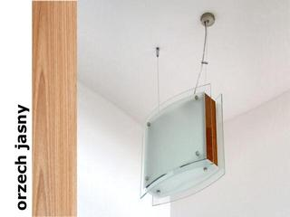 Lampa sufitowa CORDA II orzech jasny 9590OJ Cleoni