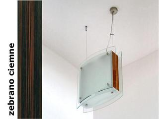 Lampa sufitowa CORDA II zebrano ciemne 9590ZC Cleoni