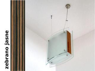 Lampa sufitowa CORDA II zebrano jasne 9590ZJ Cleoni