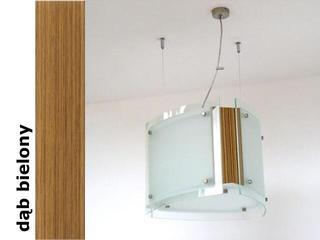 Lampa sufitowa CORDA III dąb bielony 9640DB Cleoni