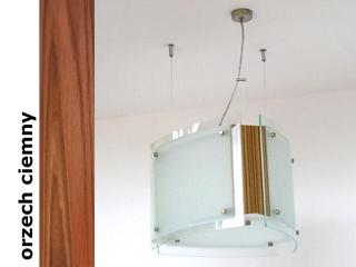 Lampa sufitowa CORDA III orzech ciemny 9640OC Cleoni