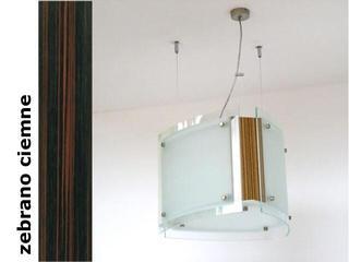 Lampa sufitowa CORDA III zebrano ciemne 9640ZC Cleoni