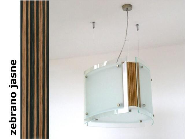 Lampa sufitowa CORDA III zebrano jasne 9640ZJ Cleoni