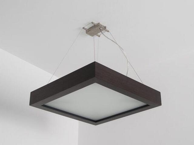 Lampa sufitowa MOA 50 wenge 8647A4204 Cleoni