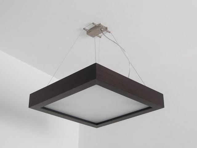 Lampa sufitowa MOA 40 wenge 8649A4204 Cleoni