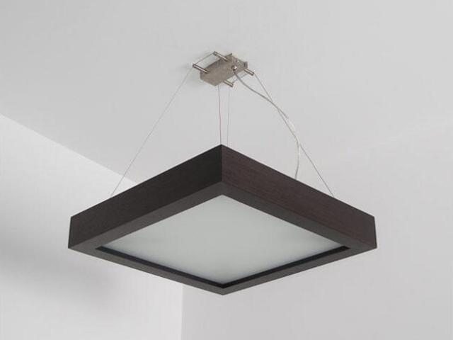 Lampa sufitowa MOA 40 wenge 8649K204 Cleoni