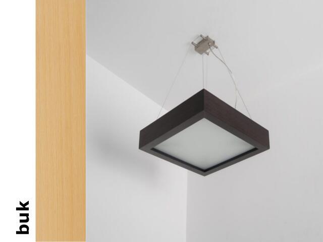 Lampa sufitowa MOA 33 buk 8651A2202 Cleoni