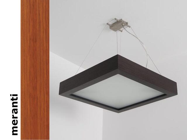 Lampa sufitowa MOA 33 wisząca meranti 8651A2203 Cleoni