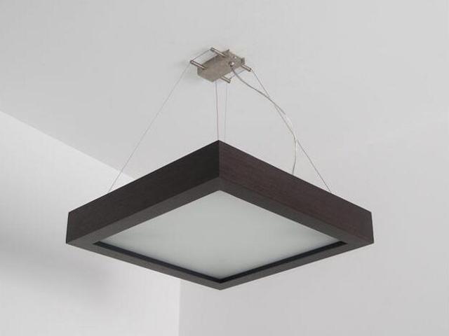 Lampa sufitowa MOA 33 wenge 8651A2204 Cleoni
