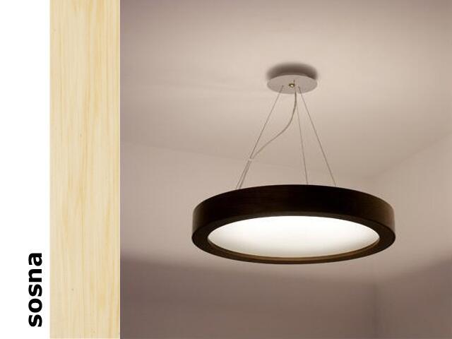 Lampa sufitowa LUKOMO 43 mała sosna 8653A3201 Cleoni