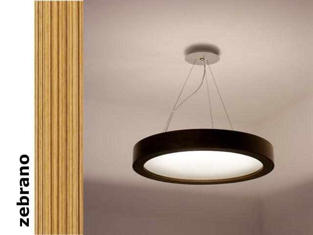 Lampa sufitowa LUKOMO 43 mała zebrano 8653A3205 Cleoni