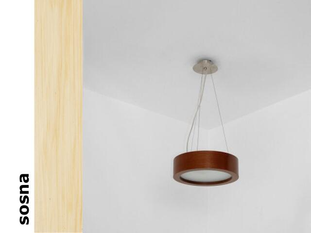 Lampa sufitowa LUKOMO 43 średnia sosna 8655A3201 Cleoni