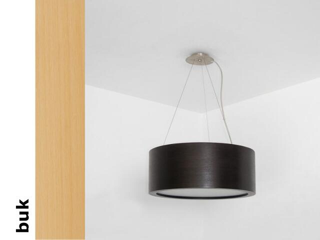 Lampa sufitowa LUKOMO 43 duża buk 8657H4202 Cleoni