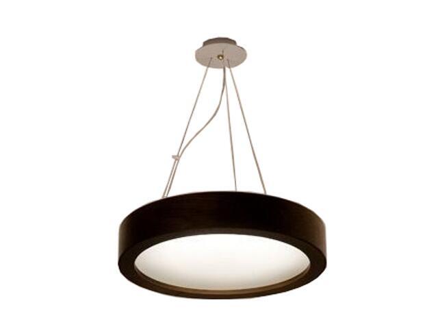 Lampa sufitowa LUKOMO 35 mała wenge 8659A2204 Cleoni