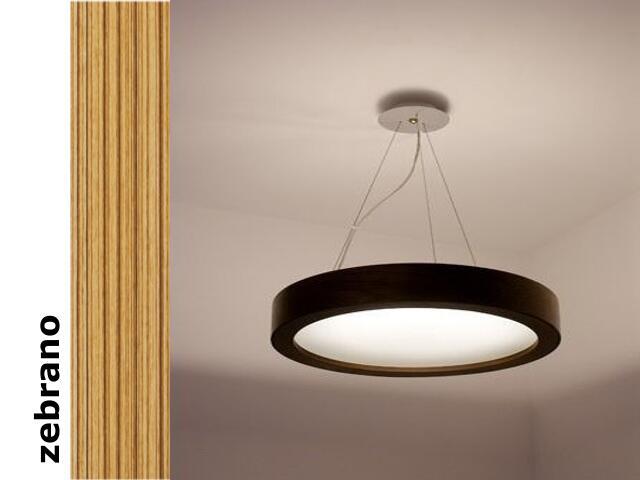 Lampa sufitowa LUKOMO 35 mała zebrano 8659A2205 Cleoni