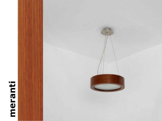 Lampa wisząca LUKOMO 35 średnia meranti 8661A2203 Cleoni