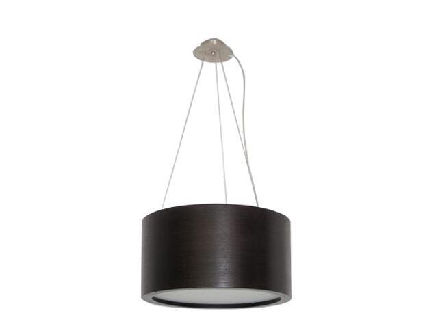 Lampa wisząca LUKOMO 35 duża wenge 8663A2204 Cleoni