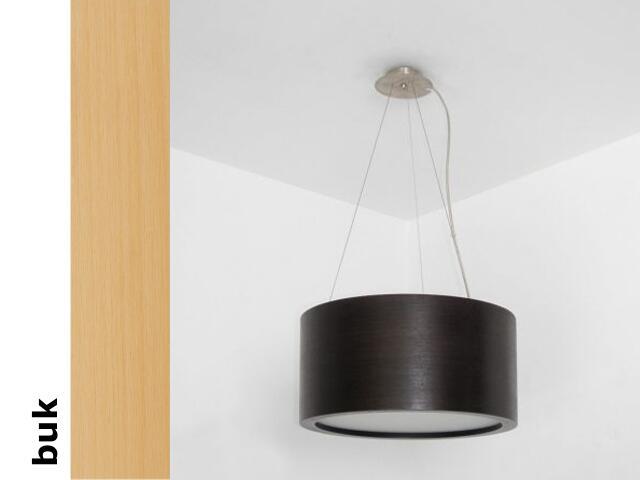 Lampa sufitowa LUKOMO 35 duża buk 8663H202 Cleoni