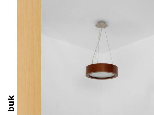 Lampa sufitowa LUKOMO 30 średnia buk 8667A1202 Cleoni