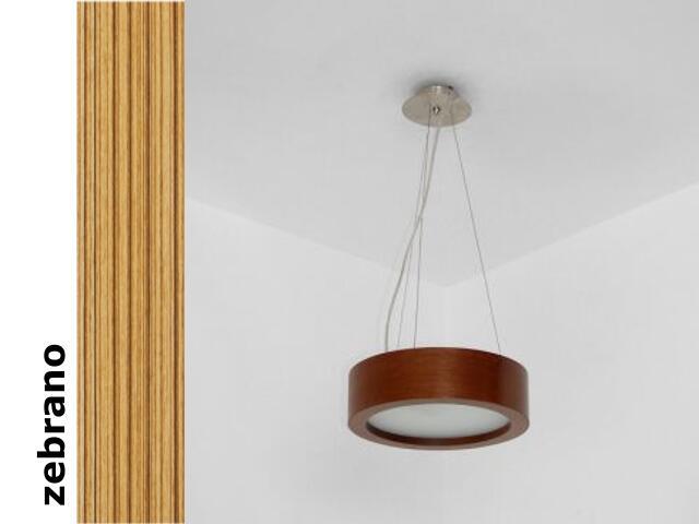 Lampa sufitowa LUKOMO 30 średnia zebrano 8667A1205 Cleoni