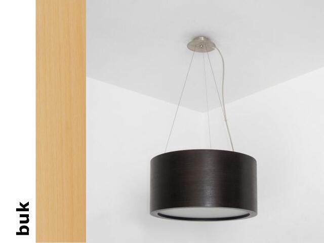 Lampa sufitowa LUKOMO 30 wysoka buk 8699A1202 Cleoni