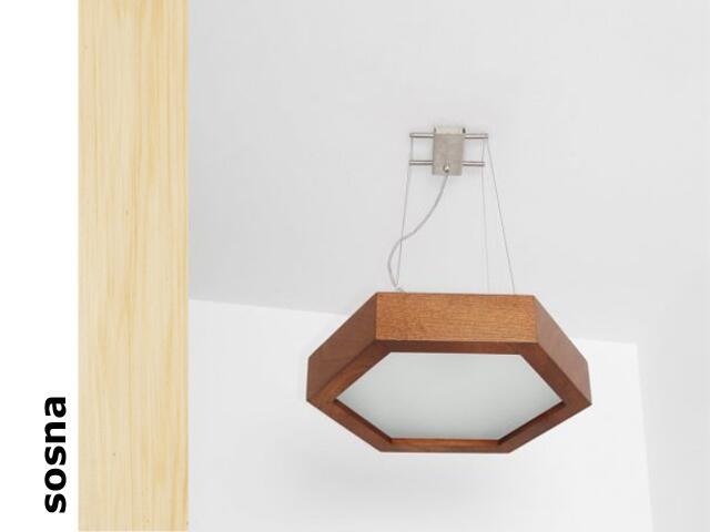 Lampa sufitowa PINO 38 sosna 8703A3201 Cleoni