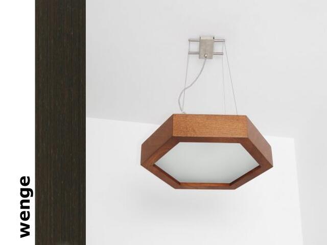 Lampa sufitowa PINO 38 wenge 8703A3204 Cleoni
