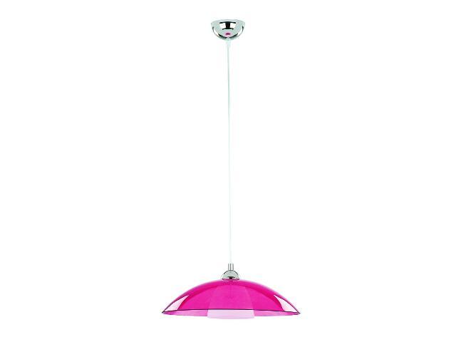 Lampa wisząca UFO 1xE27 60W fioletowa 10195 Alfa
