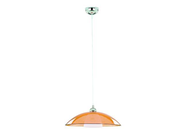 Lampa wisząca UFO 1xE27 60W pomarańczowa 10196 Alfa