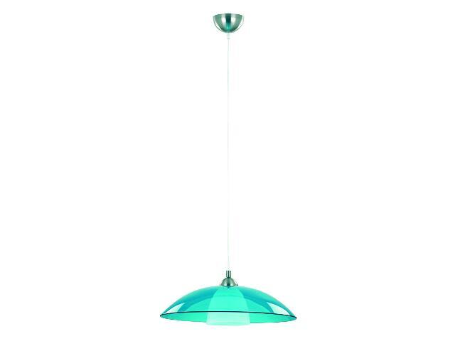Lampa wisząca UFO 1xE27 60W błękitna 10198 Alfa