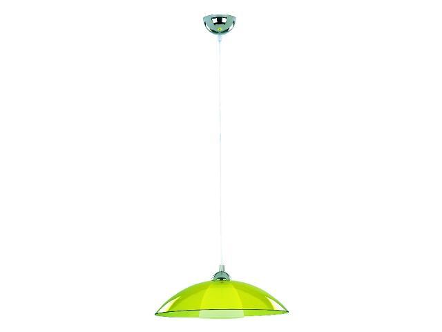 Lampa wisząca UFO 1xE27 60W zielona 10199 Alfa
